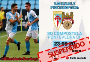 Suspendido el amistoso ante la SD Compostela por un positivo en COVID