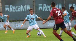 O Pontevedra gaña  2-3 ao Celta B no seu  amigable  en Barreiro