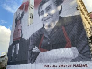 La Señora Lola ya vigila Pasarón