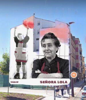 A Señora Lola será eterna en Pasarón