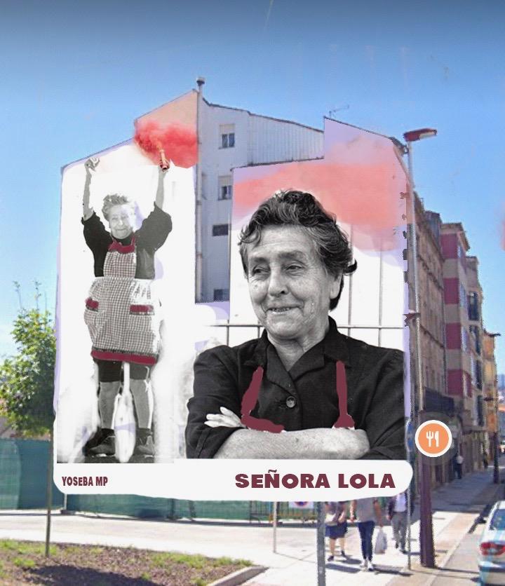 A Señora Lola terá un mural ao lado de Pasarón