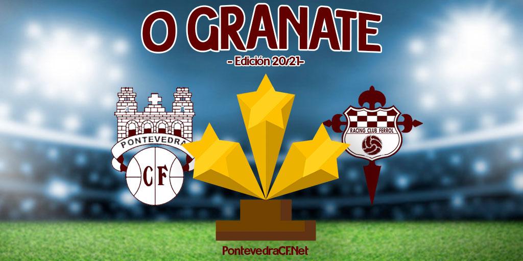 Mellor xogador Pontevedra CF - Racing Club Ferrol