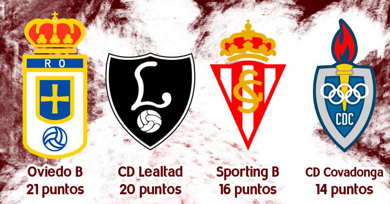 Rivales Pontevedra CF Fase Permanencia 2ªB