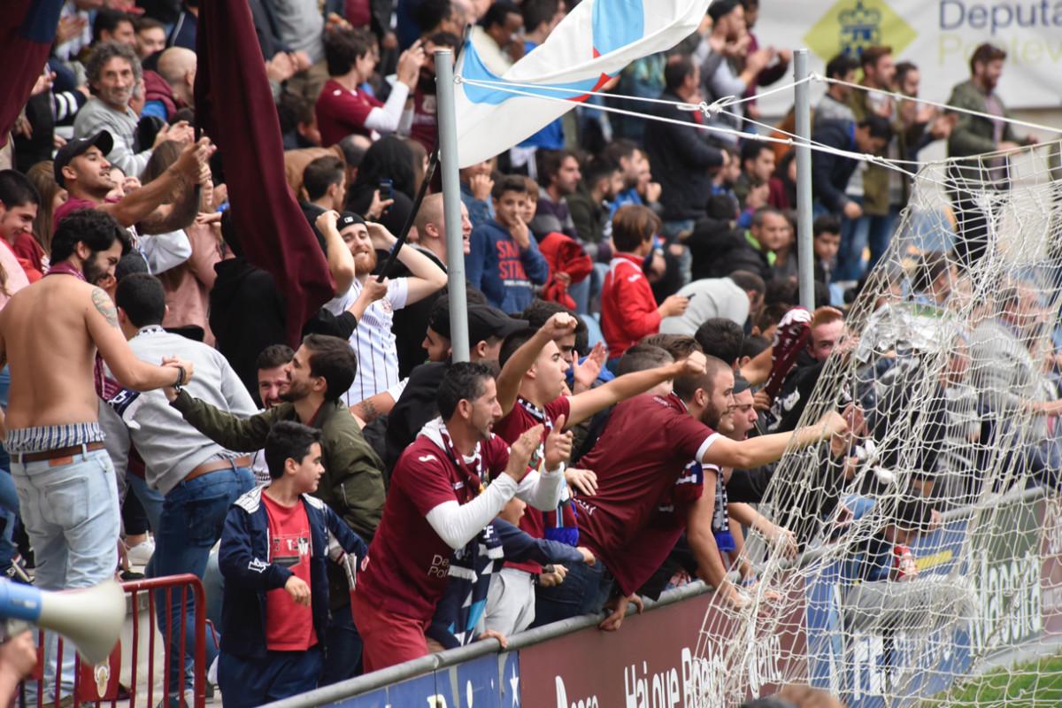 Afición Pontevedra CF