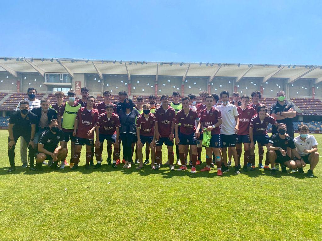 El Juvenil del Pontevedra CF asciende a División de Honor