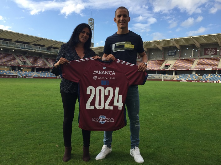 Rufo renueva con el Pontevecdra hasta 2024
